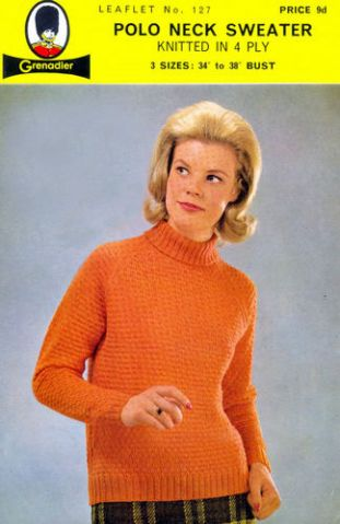 cool sweater - looks like Betty from Mad Men