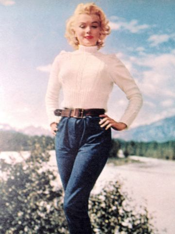 Marilyn of course - 1960's and looking good in anything