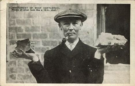weighing up the options...the shelling of Hartlepool during WW1