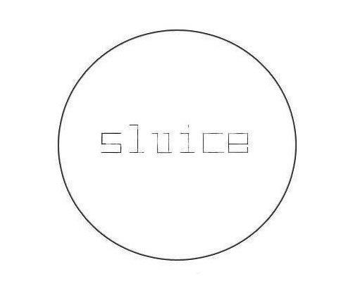 SLUICE Art Fair logo