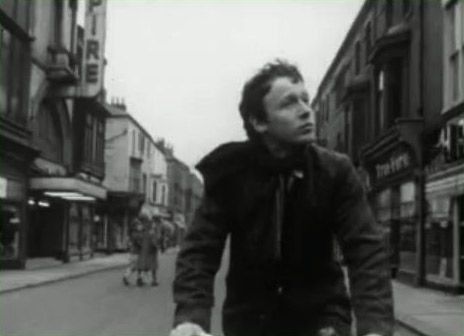 Tony Scott in his brothers first film. I filmed in this street last week - there's not much left now