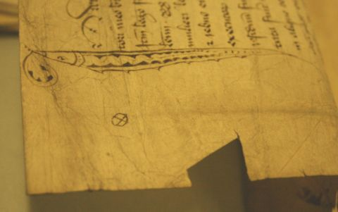 Francis Blomefield's Mark