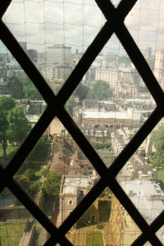 View From Floor 8, Victoria Tower, Palace of Westminster
