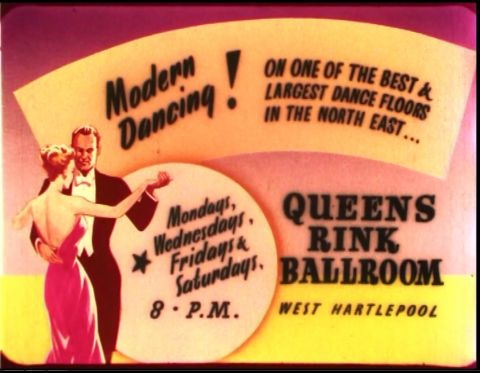 the only known existing cinema ad for the Rink