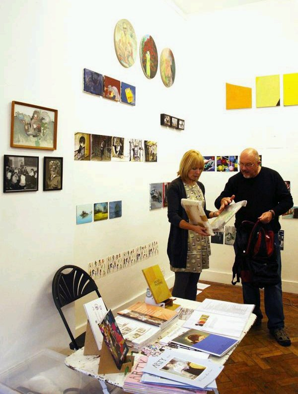 Transition Gallery at Sluice Art Fair 2011.