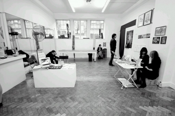 Transition Gallery at Sluice Art Fair 2011.