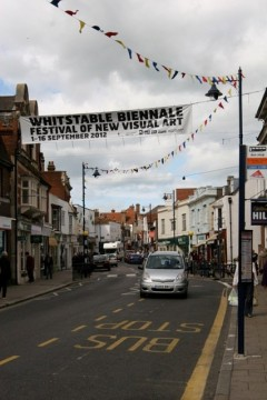 Whitstable High Street. Photo: Pippa Koszerek