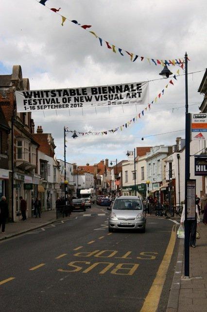 Whitstable High Street. Photo: Pippa Koszerek