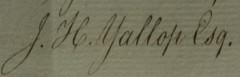 Yallop signature