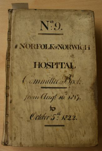 Norfolk and Norwich Hospital Book