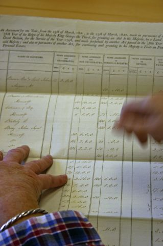 Land Tax Records for St Peter Mancroft 1821