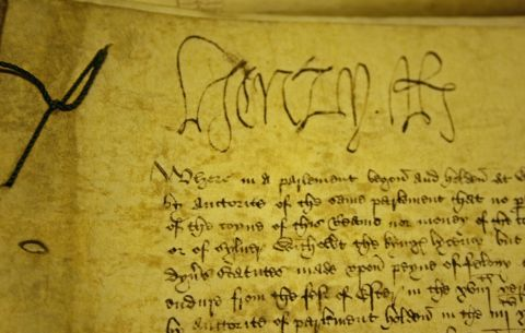 Signature of Henry VIII