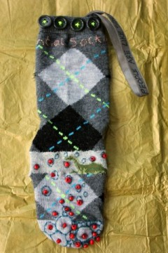 Sock B(7) front view