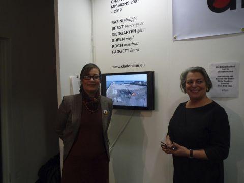 At the London Art Fair
