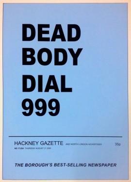 Elizabeth Price, Dead Body Dial 999