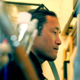 Hideyuki at Studio