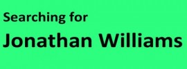 Searching for Jonathan Williams