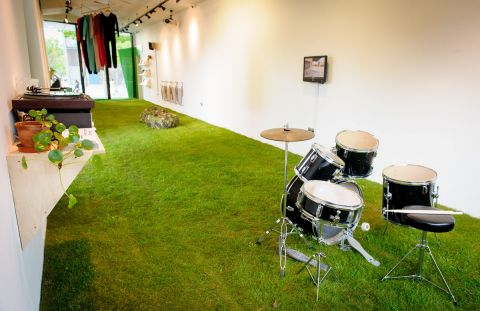 TRIBE (Installation view)