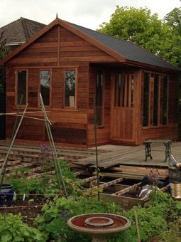 studio with decking project