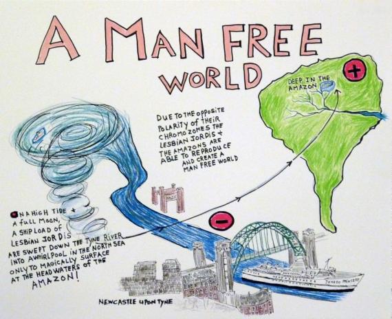 A Man Free World