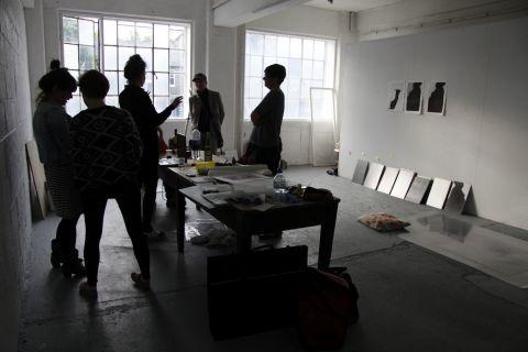 Artists talking