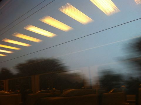 Train home to Norwich