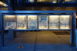 Oslo newspaper display