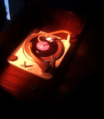 lights, action, vinyl