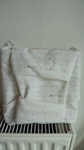 Folded writing