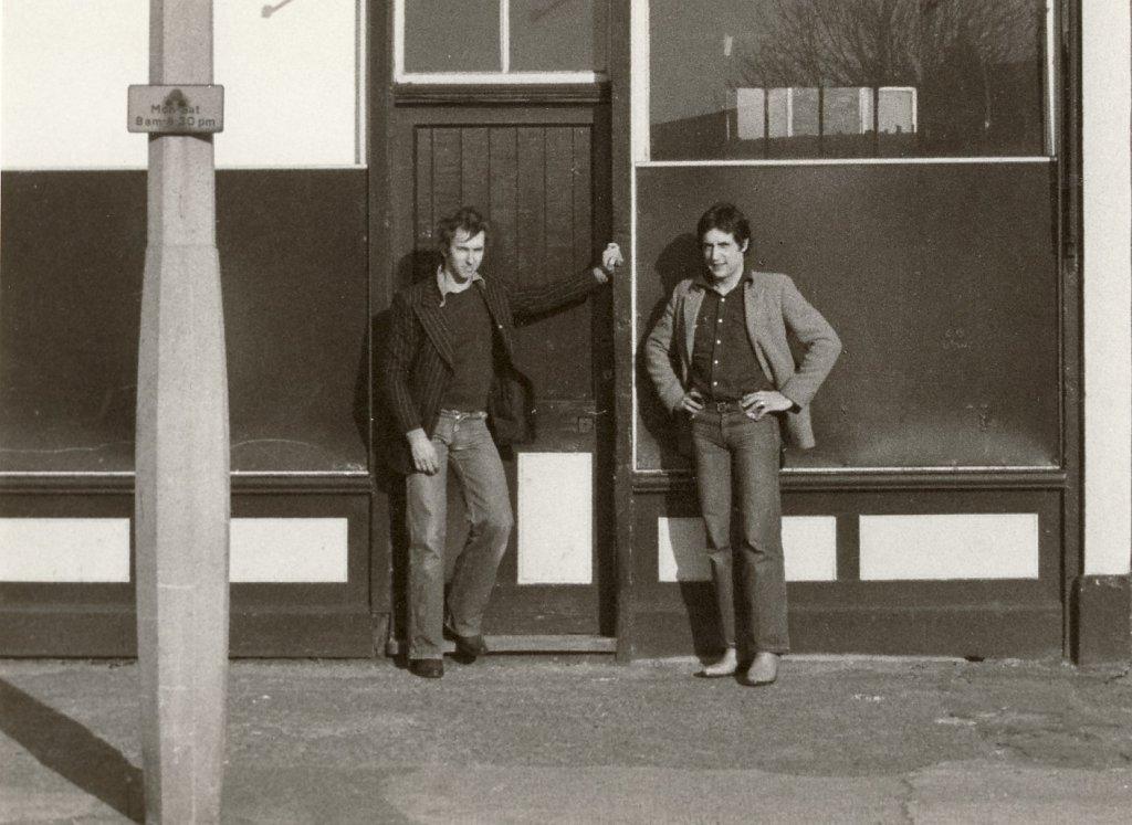 Jonathan Harvey and David Panton