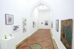 exhibition view, detail