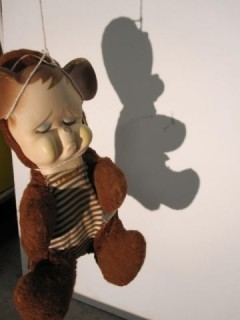 Sad Teddy's shadow