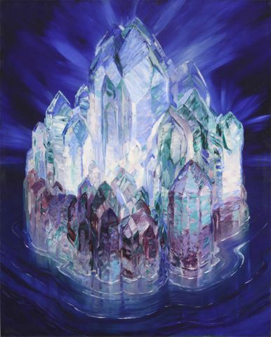 Crystal Castle in the Sea