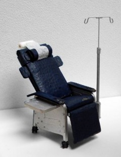 Untitled (chemotherapy chair)