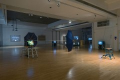 Installation view - The World Turned Upside Down: Buster Keaton, Sculpture and the Absurd