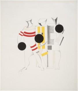 El Lissitzky Sportsmen