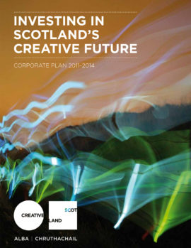 Investing in Scotland's creative future