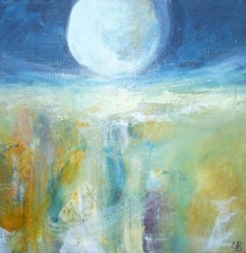 Beneath the Misty Moon