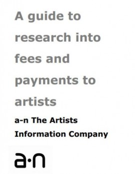 A guide to research into artists fees and payments