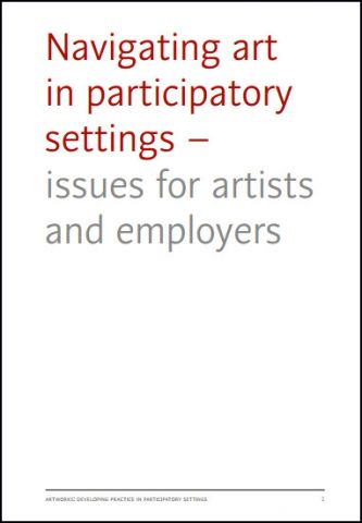 Navigating art in participatory settings