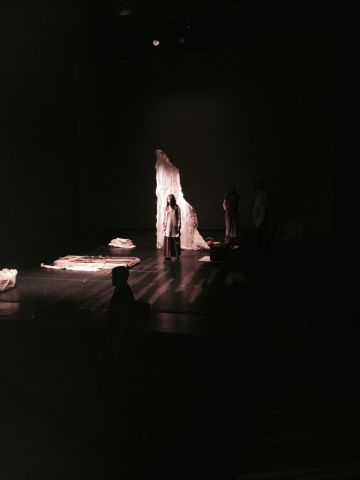 Scene from Dress Rehearsal 'Magdalene'