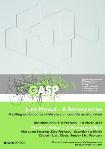 John Mynott's GASP publicity poster