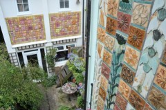 The Ceramic House Garden Wall Reliefs