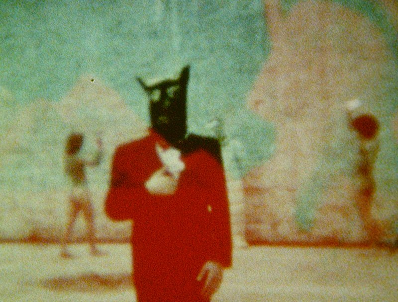 Derek Jarman, Burning the Pyramids (Art of Mirrors), 1970-3. Courtesty: LUMA Foundation