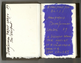 Derek Jarman, A Blueprint for Bliss film project, 1989.