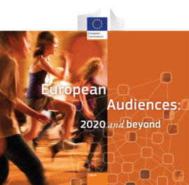 European Audiences 2020 and beyond. Image taken from front cover of PDF.