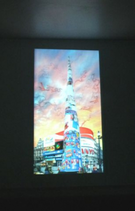 Babel Tower (installation view)