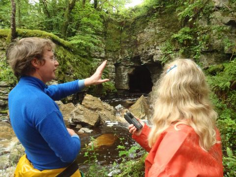Field Recording at the Marble Arch Caves Global Geopark