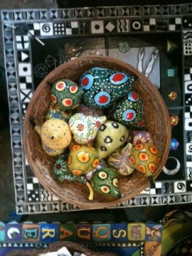 ceramic fruits