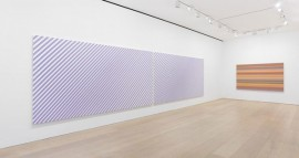 Bridget Riley, The Stripe Paintings 1961-2014.